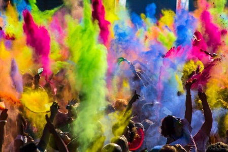 Festival of Colors in India